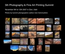 5th Photography & Fine Art Printing Summit