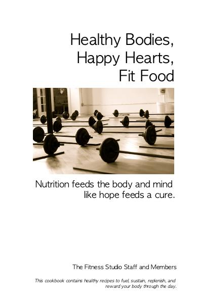 Haga clic para acercar la cubierta de Nutrition feeds the body and mind like hope feeds a cure. libro de bolsillo y comercial