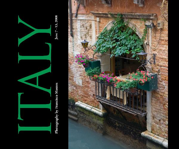 Click to preview Italy 2008 photo book