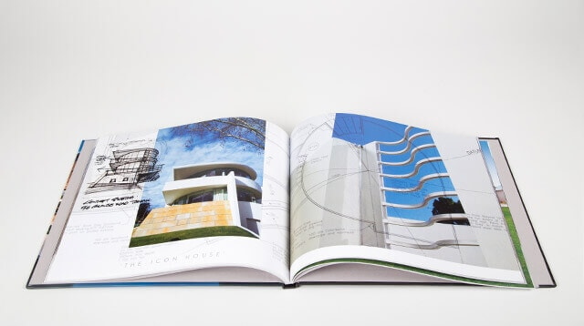 make professional custom portfolio books blurb