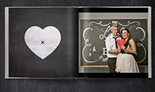 Love story photo books