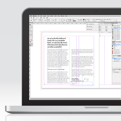 Strumenti: Adobe InDesign