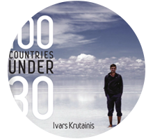 Travel books - 100 Countries under 30
