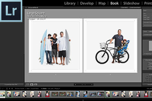 Photo book making tools Lightroom