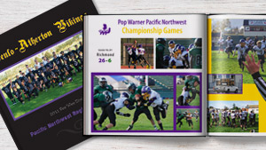 Menlo Atherton Pop Warner Vikings Sports Yearbook
